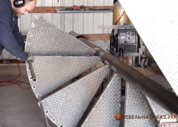 Изготовление металлических лестниц Новые Петровцы