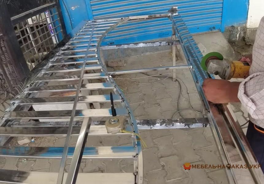 Откатные решетчатые ворота заказать от производителя