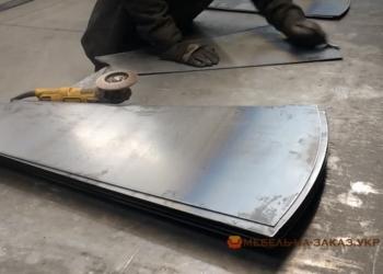 установка металлических ступеней