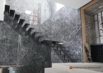 Лестница из металла без перил
