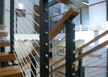 Металлические лестницы открытого и закрытого типа на заказ