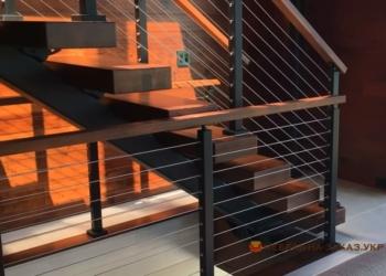 Металлические лестницы закрытого типа
