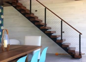 Металлические лестницы открытого типа