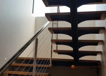 изготовление лестниц из металла двух маршевой