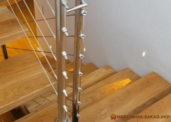 Прямая лестница из металла цены