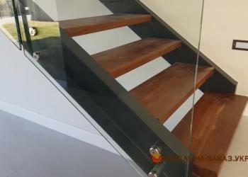 Металлическая лестница в частном доме своими руками