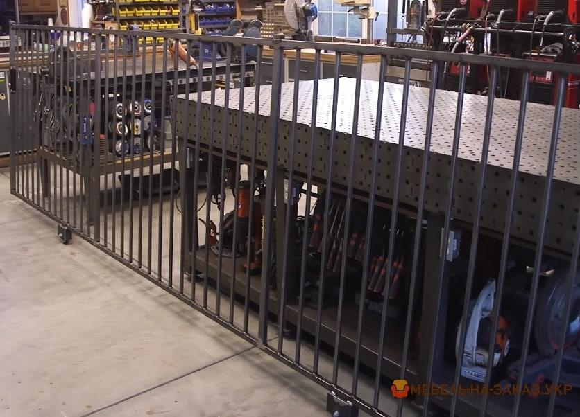 Металлические ворота для дома и дачи на заказ