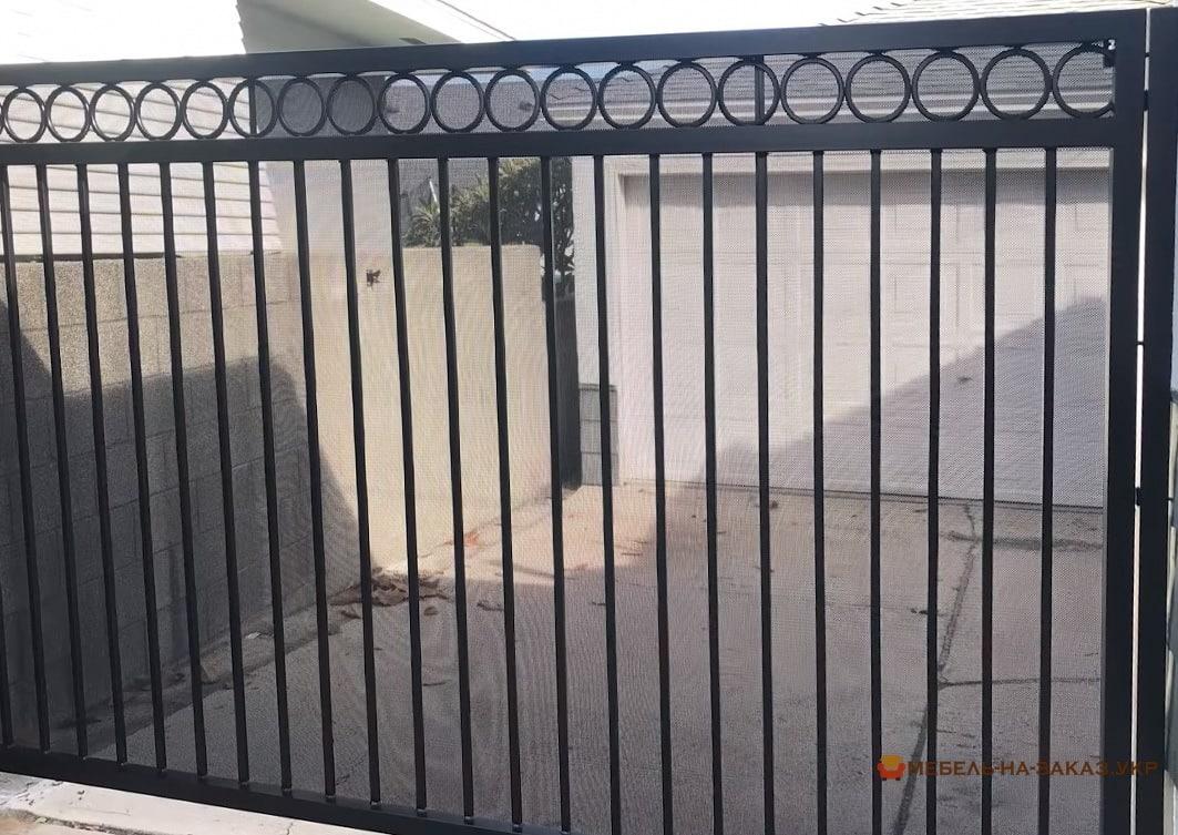 заказные металлические ворота