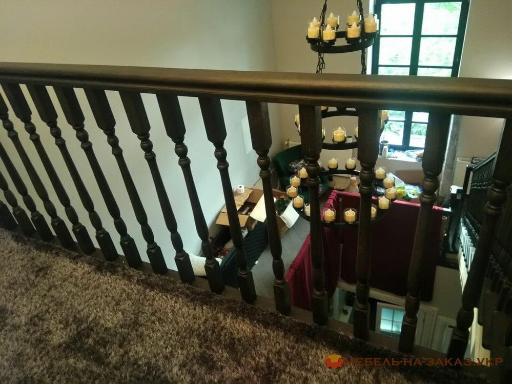 лестница из массива на заказ Пуща водица