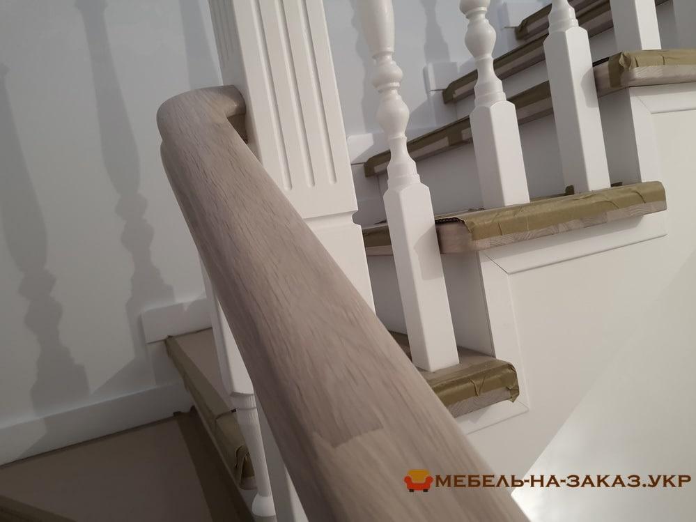 проекты лестниц из дуба на заказ