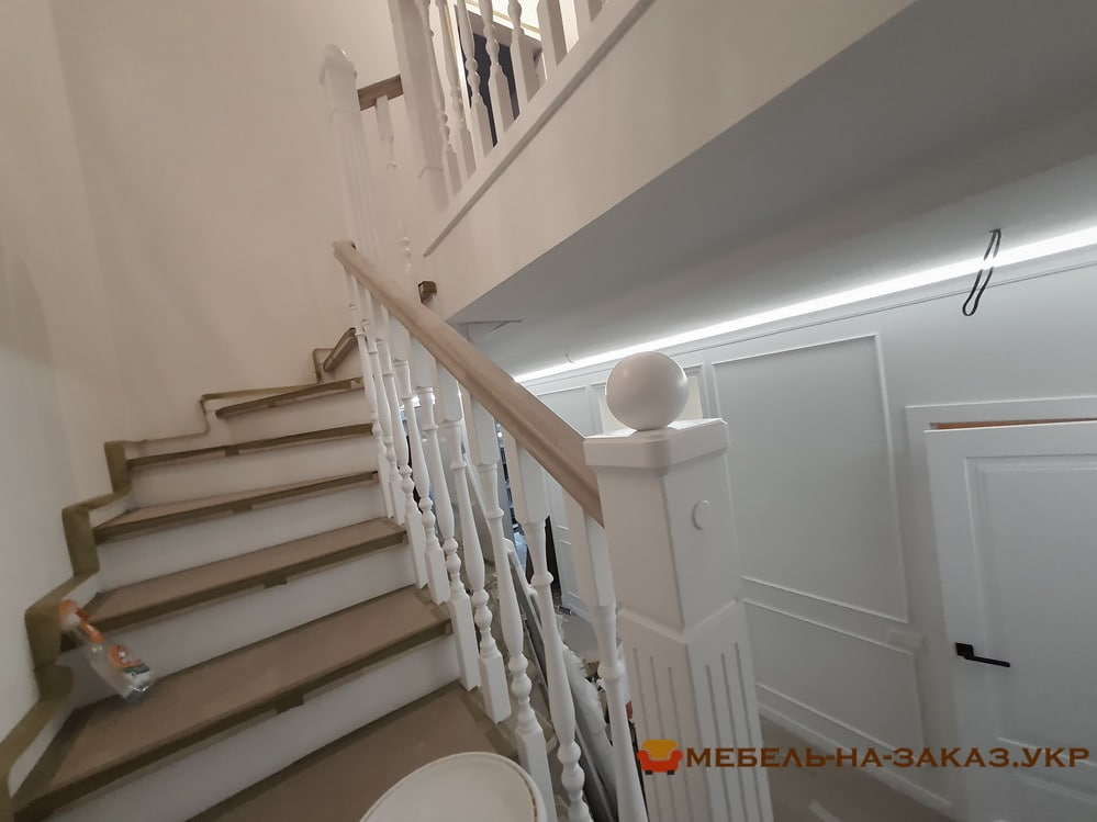 лестницы в дом на заказ Новые петровцы